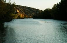 Río Duero a su paso por San Saturio