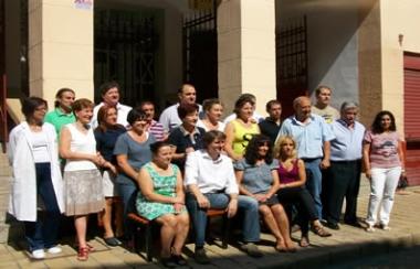 Foto de familia del mercado