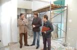 Visita de las obras