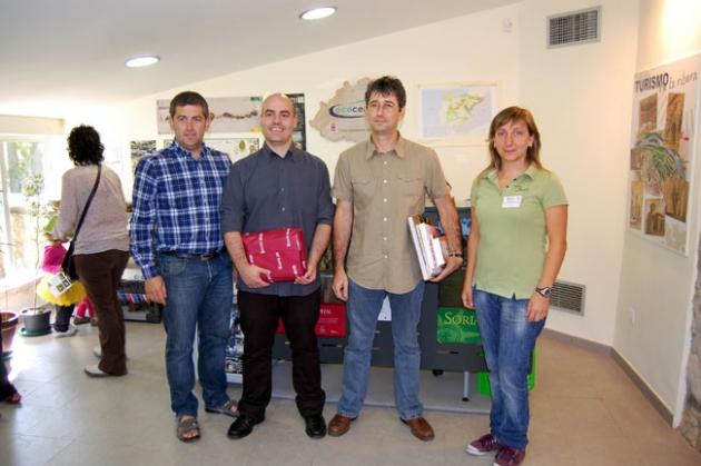 Ganadores con Javier Antón