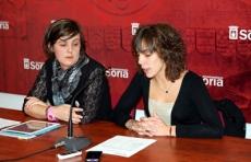 Ines Andrés en rueda de prensa