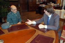 Reunión Alcalde y Tnte Coronel