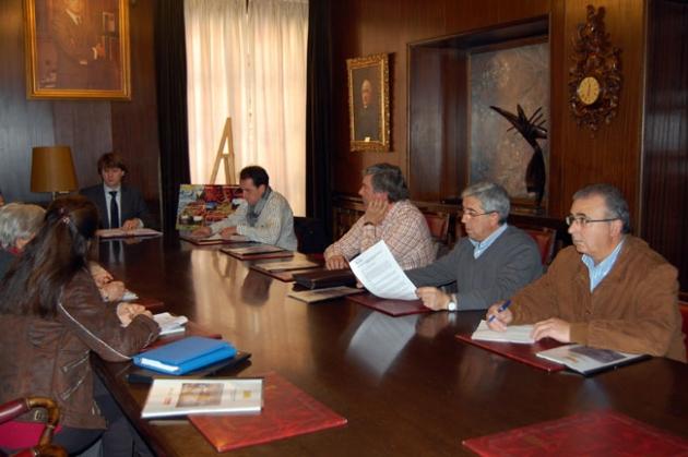 Reunión con los alcaldes