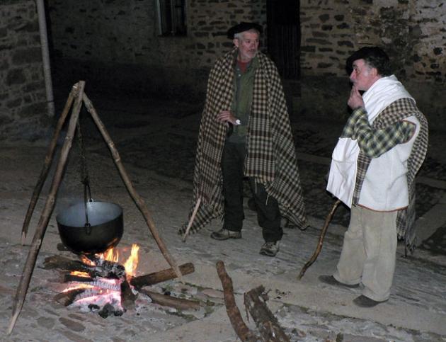 Pastores con caldereta