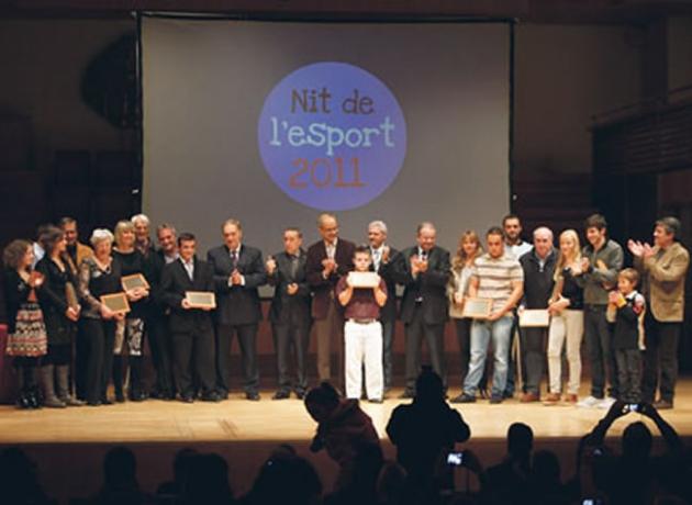 Galardonados Deporte Andorra