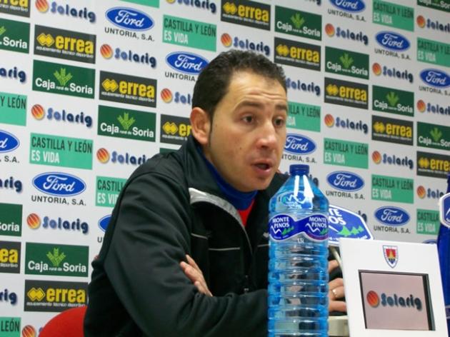 Pablo Machin en rueda de prensa
