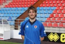 El jugador Gorka Larrea