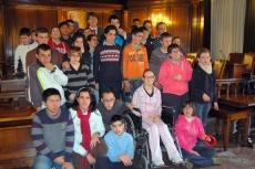 Visita de los alumnos