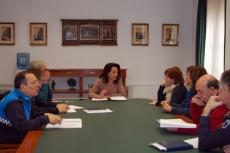 Reunión con agentes sociales