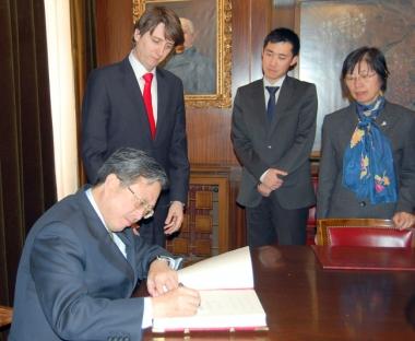 Firma de acuerdos