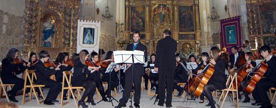 Foto 1 - Concierto de la Joven Orquesta Sinfónica de Soria en Gómara