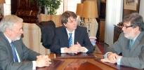 Foto 1 - El embajador de Colombia visita Soria para estudiar posibles intercambios empresariales