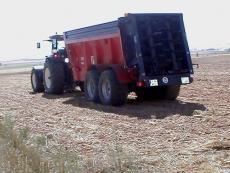 Los lodos se usan de fertilizante