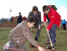 Plantación en el Bosque Infantil