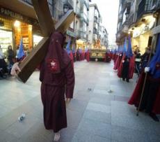 Viacrucis en la capital de Soria