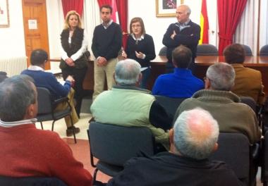 Reunión del PP en San Pedro