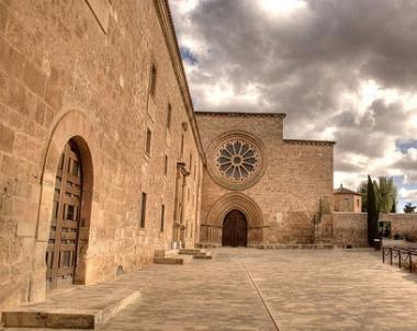 Entrada al monasterio de Huerta