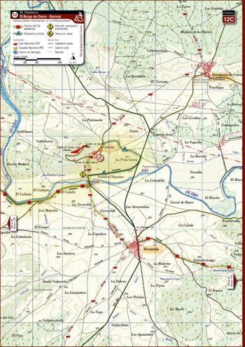 Nuevo mapa del Camino
