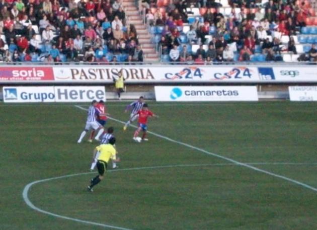 Bedoya ante el Valladolid