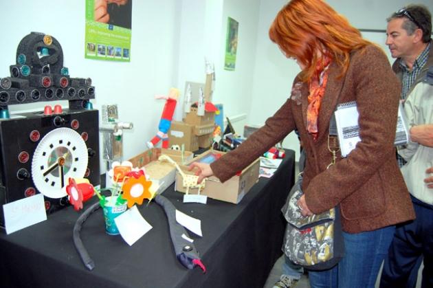 Muestra del concurso 'Reciclarte'