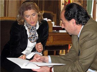Rita Berdonces y Manuel López