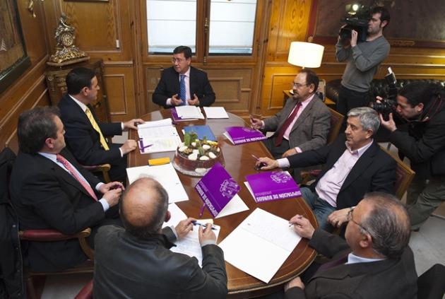 Reunión en Burgos