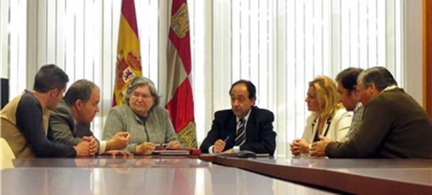 Reunión con la Junta