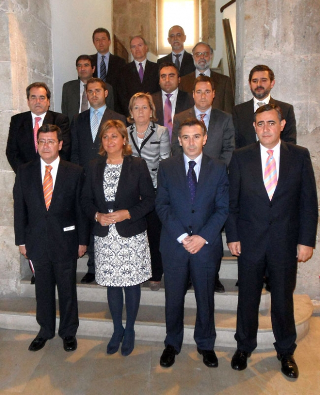 Asistentes al Consejo del Consorcio
