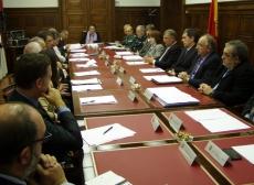 Reunión con los servicios del Estado