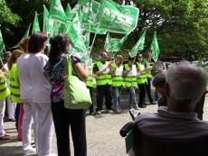 Manifestación enfermeros