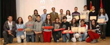 Ganadores de las Olimpiada Provincial de Matemáticas 2012