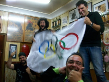 Los cuatro olímpicos