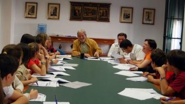 Reunión de 'Presupuestos Infantiles'