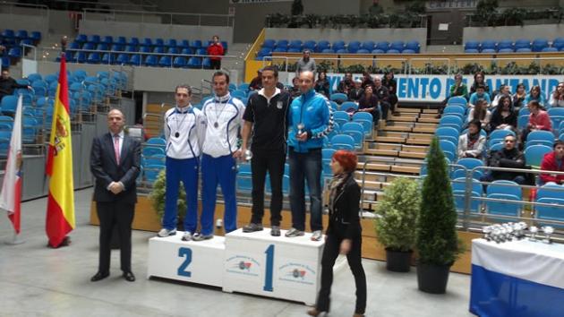 Medallistas badminton