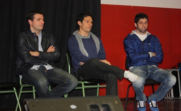 Palacios, Del Pino y Juanjo