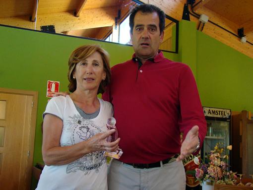 Gloria Martínez y Román López