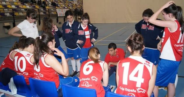 Equipo femenino Numancia baloncesto