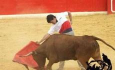 Rubén Sanz entrenándose