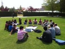 Asamblea joven en la Dehesa