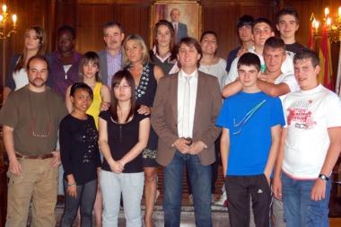 Alumnos del curso de formación