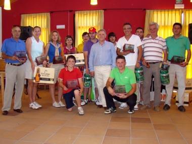 Foto familia ganadores