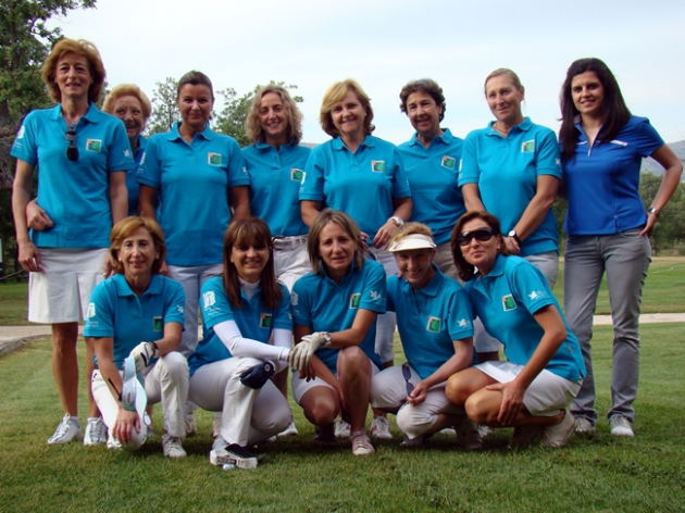 Equipo femenino Golf Soria