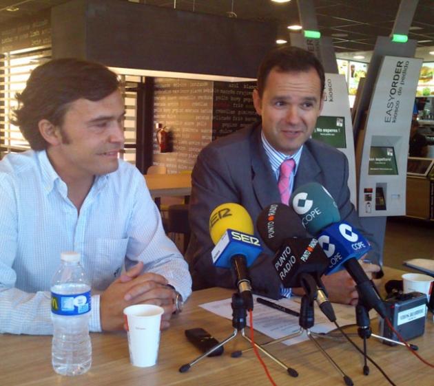 Borja Esquibel y Daniel Agromayor