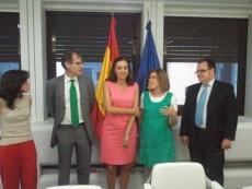 Carmen Vela y PP de Soria