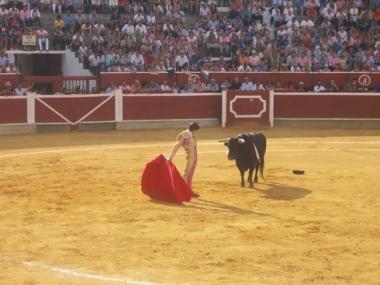 Castella en su primer toro