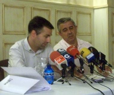 Santiago Soto y Jesús Elvira