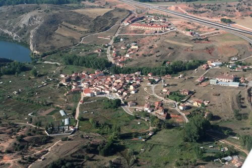 Imagen aérea de Los Rábanos