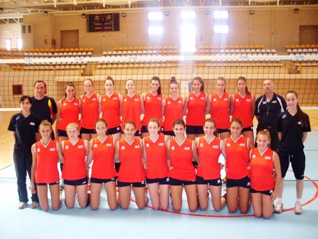 Selección juvenil femenina