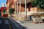 Obras en el colegio Doce Linajes