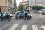 Policía Local cortando el Espolón